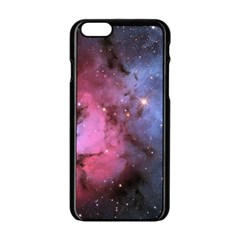 Trifid Nebula Apple Iphone 6/6s Black Enamel Case