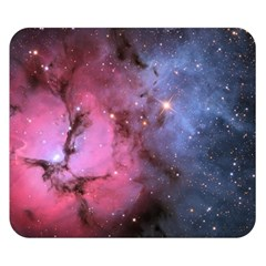 Trifid Nebula Double Sided Flano Blanket (small)  by trendistuff