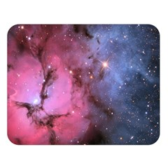 Trifid Nebula Double Sided Flano Blanket (large)