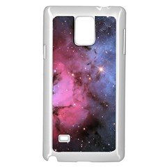 Trifid Nebula Samsung Galaxy Note 4 Case (white)