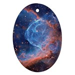 THOR S HELMET Ornament (Oval)  Front