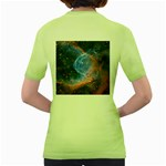 THOR S HELMET Women s Green T-Shirt Back