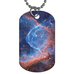 Thor s Helmet Dog Tag (two Sides) by trendistuff