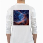 THOR S HELMET White Long Sleeve T-Shirts Back
