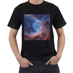 THOR S HELMET Men s T-Shirt (Black) Front