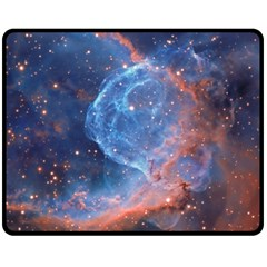 Thor s Helmet Fleece Blanket (medium)