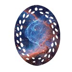 THOR S HELMET Ornament (Oval Filigree)  Front