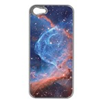 THOR S HELMET Apple iPhone 5 Case (Silver) Front