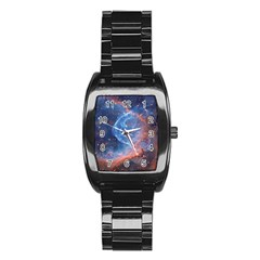 Thor s Helmet Stainless Steel Barrel Watch