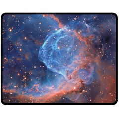 Thor s Helmet Double Sided Fleece Blanket (medium)