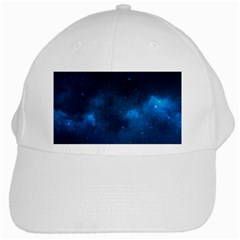 Starry Space White Cap by trendistuff
