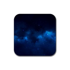 Starry Space Rubber Square Coaster (4 Pack)