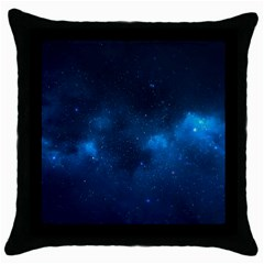 Starry Space Throw Pillow Cases (black)