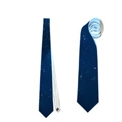 Starry Space Neckties (one Side)