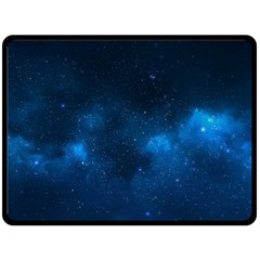 Starry Space Fleece Blanket (large)