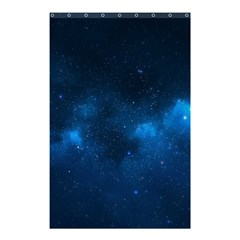 Starry Space Shower Curtain 48  X 72  (small)
