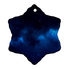 Starry Space Snowflake Ornament (2 Side)