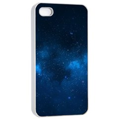 Starry Space Apple Iphone 4/4s Seamless Case (white) by trendistuff