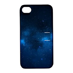 Starry Space Apple Iphone 4/4s Hardshell Case With Stand