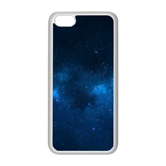 Starry Space Apple Iphone 5c Seamless Case (white)