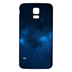 Starry Space Samsung Galaxy S5 Back Case (white) by trendistuff