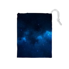 Starry Space Drawstring Pouches (medium)