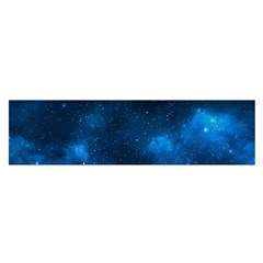 Starry Space Satin Scarf (oblong)