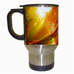 Solar Flare 2 Travel Mugs (white) by trendistuff