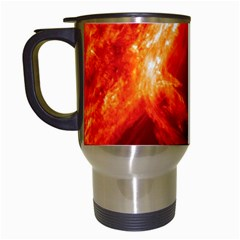 Solar Flare 1 Travel Mugs (white) by trendistuff
