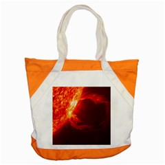 Solar Flare 1 Accent Tote Bag  by trendistuff