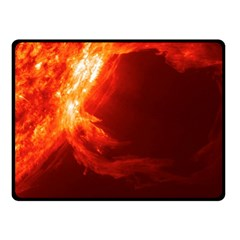 Solar Flare 1 Fleece Blanket (small) by trendistuff