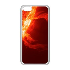 Solar Flare 1 Apple Iphone 5c Seamless Case (white) by trendistuff
