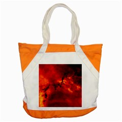 Rosette Nebula 2 Accent Tote Bag  by trendistuff