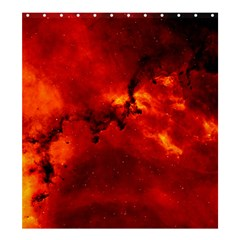 Rosette Nebula 2 Shower Curtain 66  X 72  (large)  by trendistuff