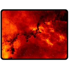Rosette Nebula 2 Double Sided Fleece Blanket (large)  by trendistuff