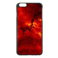 Rosette Nebula 2 Apple Iphone 6 Plus/6s Plus Black Enamel Case by trendistuff