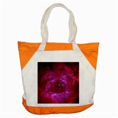 Rosette Nebula 1 Accent Tote Bag  by trendistuff