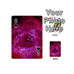 Rosette Nebula 1 Playing Cards 54 (mini)  by trendistuff
