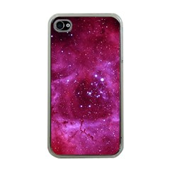Rosette Nebula 1 Apple Iphone 4 Case (clear) by trendistuff