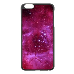 Rosette Nebula 1 Apple Iphone 6 Plus/6s Plus Black Enamel Case by trendistuff