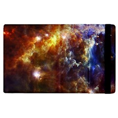 Rosette Cloud Apple Ipad 2 Flip Case by trendistuff