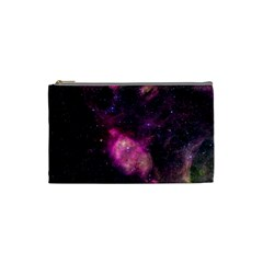 Purple Clouds Cosmetic Bag (small)  by trendistuff