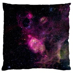 Purple Clouds Standard Flano Cushion Cases (one Side)  by trendistuff