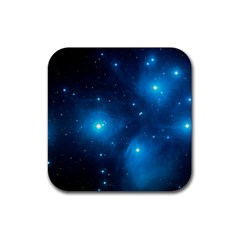 Pleiades Rubber Coaster (square)  by trendistuff