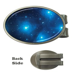 Pleiades Money Clips (oval)  by trendistuff