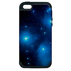 Pleiades Apple Iphone 5 Hardshell Case (pc+silicone) by trendistuff