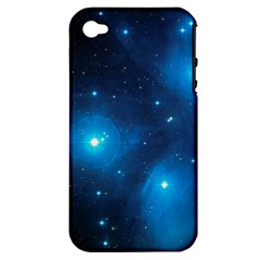Pleiades Apple Iphone 4/4s Hardshell Case (pc+silicone) by trendistuff