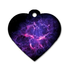Pia17563 Dog Tag Heart (one Side) by trendistuff