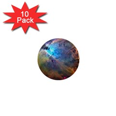 Orion Nebula 1  Mini Buttons (10 Pack)  by trendistuff