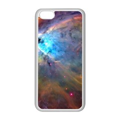 Orion Nebula Apple Iphone 5c Seamless Case (white) by trendistuff